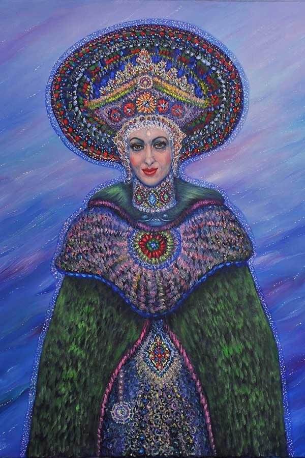 Mysterious Queen.